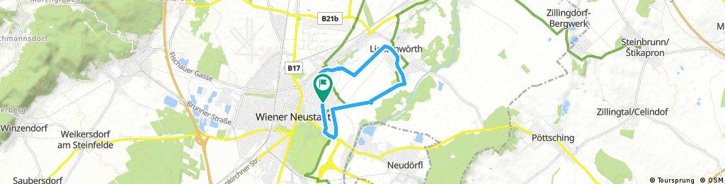 Radrunde durch Gemeinde Wiener Neustadt