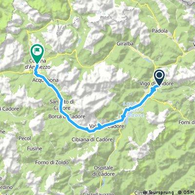 Vigo di Cadore - Cortina alt.