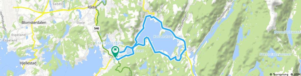 Bergen: Kalandsvatnet
