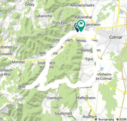 16-6-2017 (vr) Vallee du Munster en Col du Firstplan.