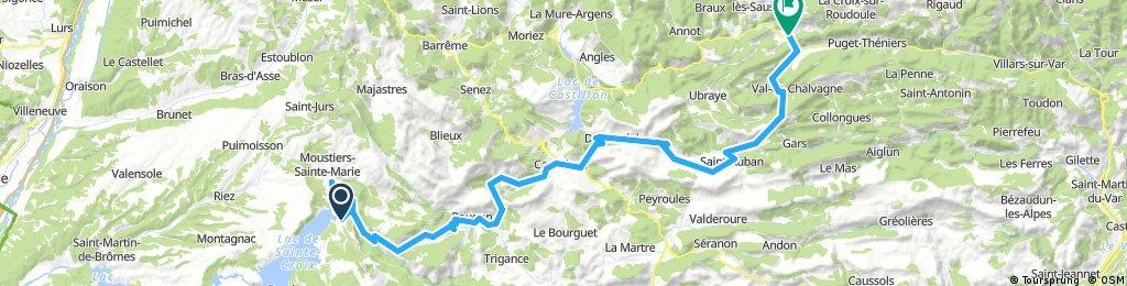 TdF 2017 Le Verdon - Entrevaux / 3rd Stage (6.6.2017)