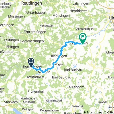 Sigmaringen to Rottenacker