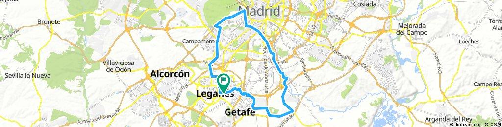 LEGANES MADRID RIO