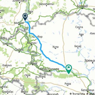 Tour de Bałkany 2017 dzień 4