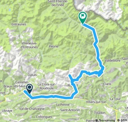 TdF 2017 Entrevaux - Isola / 4th Stage (7.6.2017)