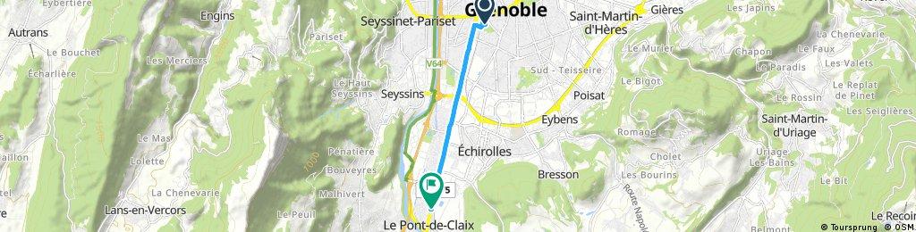Quick bike tour through Le Pont-de-Claix