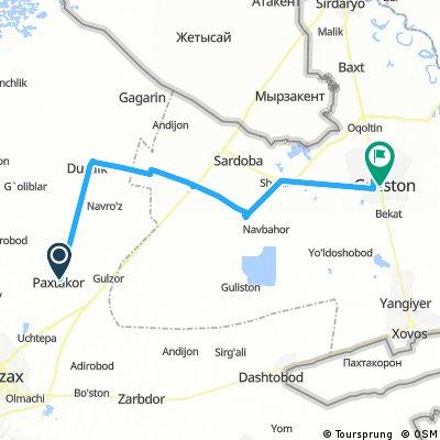 day 50 Uzbekistan