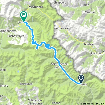 TdF 2017 Isola - Jausiers / 5th Stage (8.6.2017)