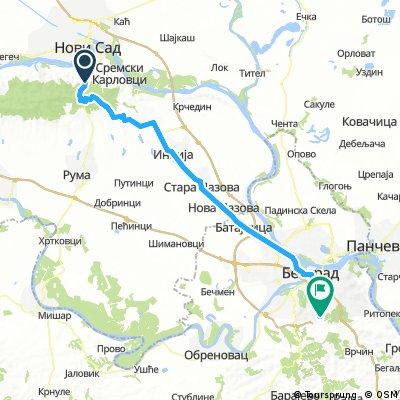 Tour de Bałkany 2017 dzień 5