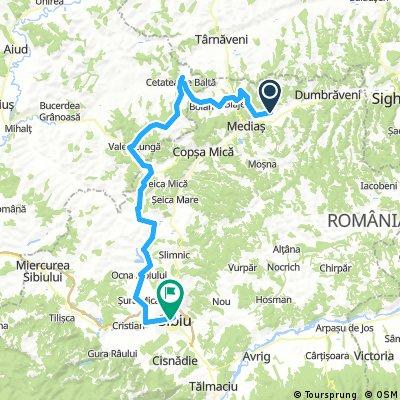 Transylvania Epic Bike Ride ziua 4 lunga