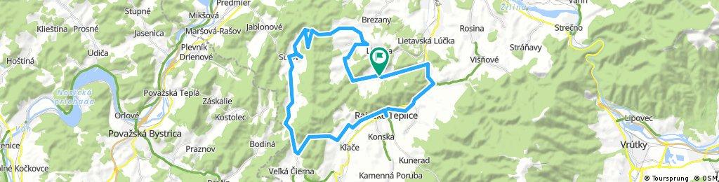 18.6. 2017 LS - Šarkania diera - Súľov - Jasenové - Rajecké Teplice