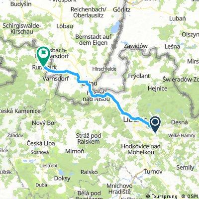 24. Jablonec nad Nisou - Rumburk