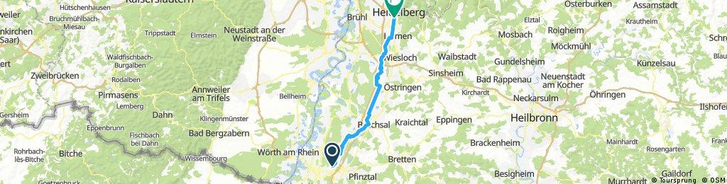 Karlsruhe - Heidelberg 2