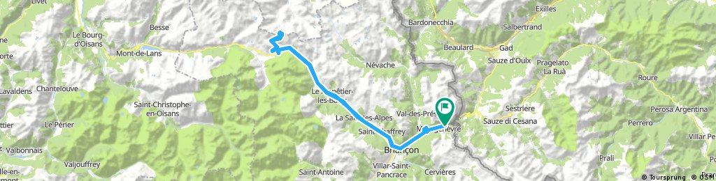Montgenèvre - Briançon - Col du Lautaret - Col du Galibier e ritorno