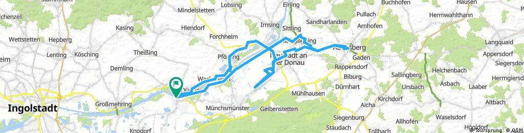 Vohburg-Abensberg-Vohburg