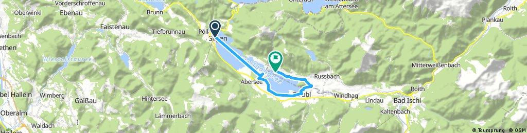 bike tour through Sankt Wolfgang im Salzkammergut 18.06.2017