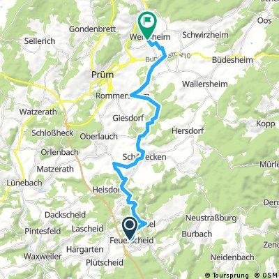 VOM FEST ZU FEST bike tour from 18 June, 13:25