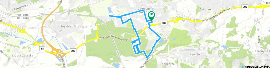 bike tour through Zabrze