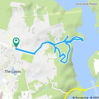 Brief ride through Cockeysville