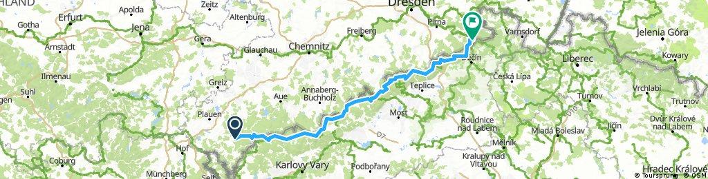 Schöneck - Schöna (Schmilka) mit Crosskates