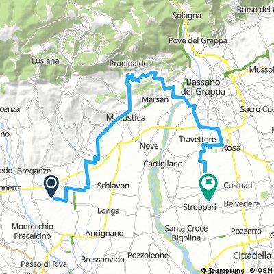 Long ride through Tezze sul Brenta