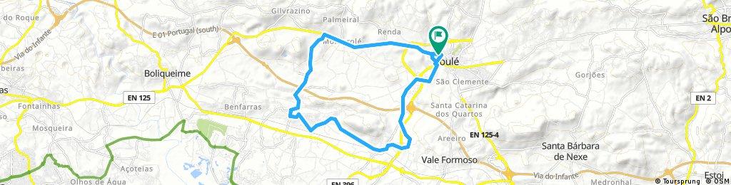 bike tour through Loulé