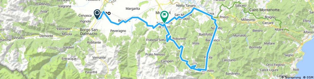 Giro alla Colla di Casotto-Ceva-CN