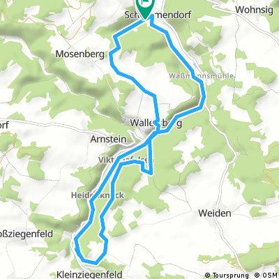 2017_06 Rundwanderung: Von Schammendorf nach Kleinziegenfeld