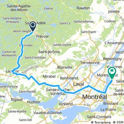 En Route Vers La Boucle Les Sommets