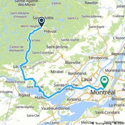 En Route Vers La Boucle Les Sommets 2017