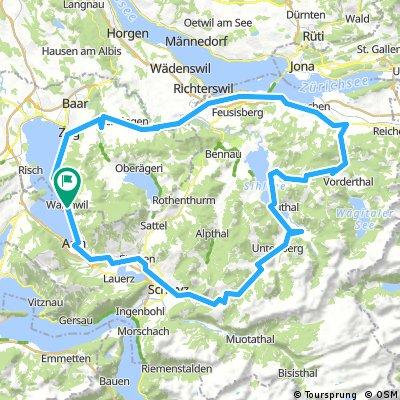 Walchwil-Sattelegg-Ibergeregg