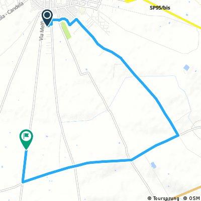 bike tour through Cerignola