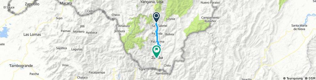 Lengthy ride through Zumba