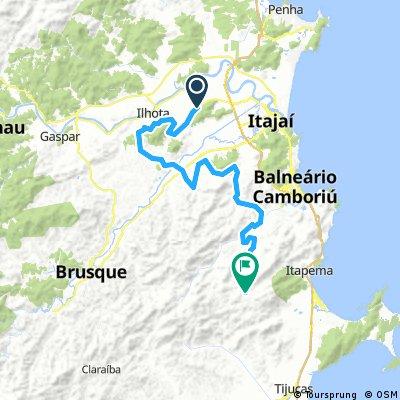 Ilhota a Cachoeira dos Macacos