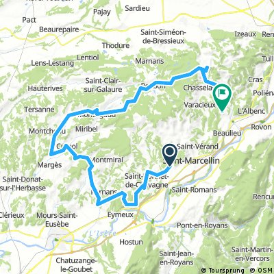 Chatte Vinay 85 km