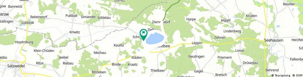 Lange Radrunde durch Arendsee (Altmark)