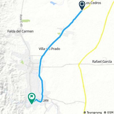 bike tour through Alta Gracia