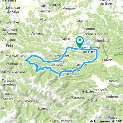 Col du Montsegur et Col de la Lauze