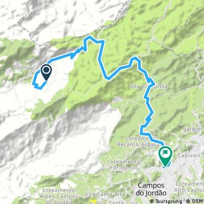bike tour from São Bento do Sapucaí to Campos Do Jordao