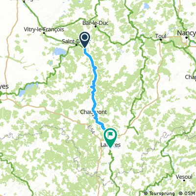 5 Chamouilley - Langres 114 km