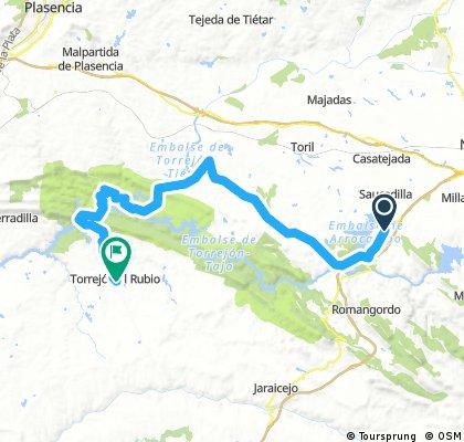 Almaraz_Torrejon el rubio 60km