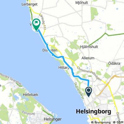 Helsingborg To Viken To Camp