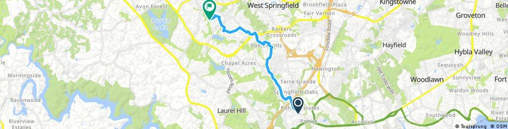 bike tour through
