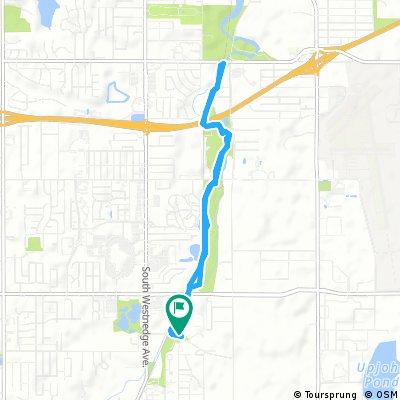 Brief bike tour through Portage