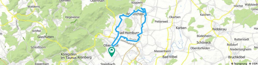 Radrunde nach Friedrichsdorf