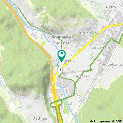 Schnelle Radrunde durch Winterthur