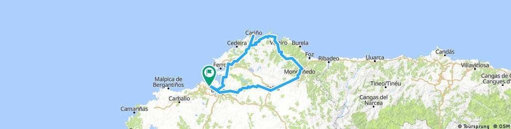 Brevet Randonneur 300K Coruña das Mariñas