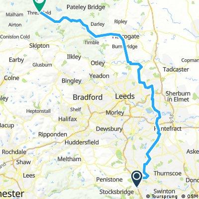 Day 6 - Barnsley to Grassington 2