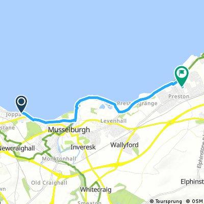 Short bike tour from Edinburgh to Prestonpans