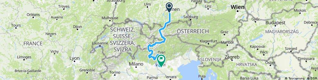 TransAlp München-Verona